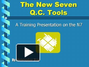 7 QC TOOLS NEW PDF DOWNLOAD