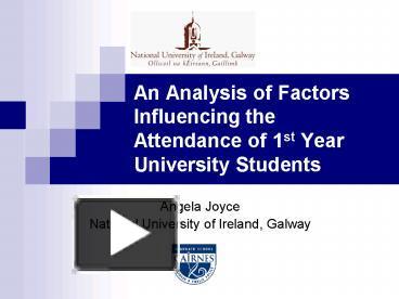 an analysis of university education