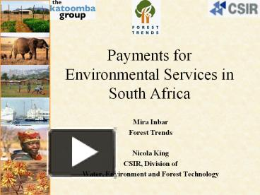 payment for environment service