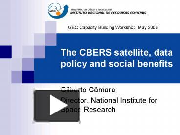 how satellite benefits society