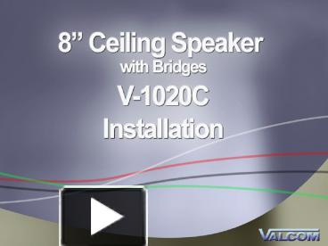 278618 MTBiZ ppt required tools for installation of a v 1020c speaker with v valcom v 1020c wiring diagram at cos-gaming.co