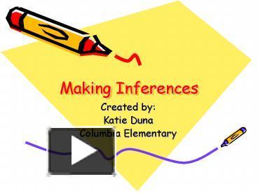 Making Inferences Powerpoint 8th Grade | sardolog.org