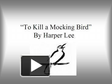 an analysis of courage in to kill a mockingbird by harper lee