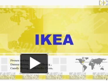ppt – ikea powerpoint presentation | free to download - id: 2a324, Presentation templates