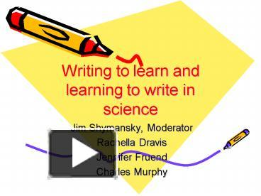 write to learn com