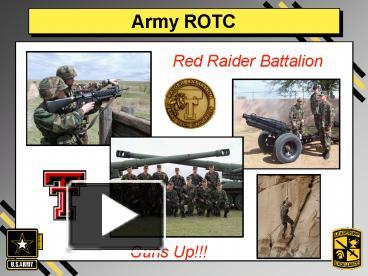 Ppt army rotc powerpoint presentation free to download id ppt army rotc powerpoint presentation free to download id 3096b mmuwn toneelgroepblik Choice Image