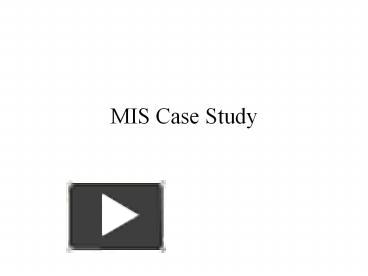 Case Study    MIS    Sec      North South University Individual     APPLYING MANAGEMENT INFORMATION SYSTEM IN CONSTRUCTION INVESTMENT  PROGRAMMES  A CASE STUDY FOR A PUBLIC