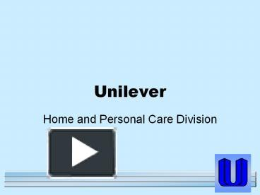 ppt – unilever powerpoint presentation   free to download - id, Presentation templates