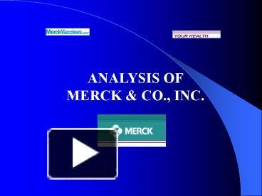 merck medco case analysis