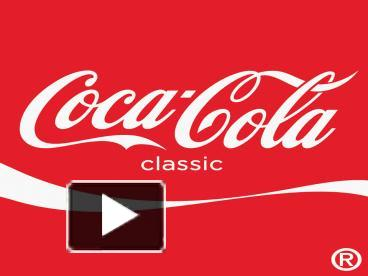 ppt – coca cola powerpoint presentation | free to view - id, Modern powerpoint