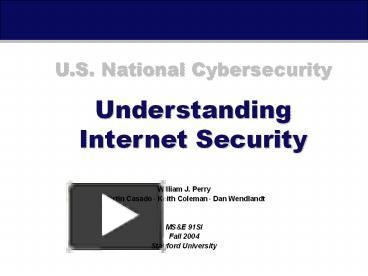 understanding internet security