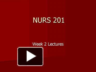 nur 587 international nursing presentation Read this essay on nurse leader interview paper nur 587 february 25, 2013 elizabeth franco university of phoenix nur 482 nursing leadership and management in.