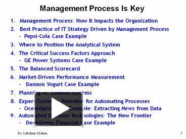 key success factors for pepsico