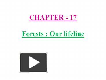 topic and forest our lifeline 9 facts you need to know about forests and trees posted by pete - 21st  the  forests are the lungs of our planet they play a crucial role in.