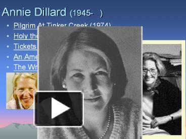 a recollection of childhood memories in the chase a story by annie dillard