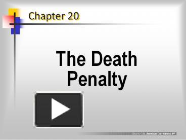 an overview of the death penalty