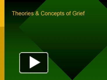 The characterization of disenfranchised grief complicated mourning and intuitive grievers
