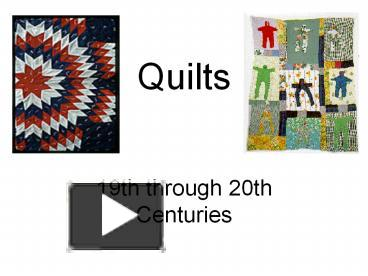 Ppt quilts powerpoint presentation free to download id 3b5318 ppt quilts powerpoint presentation free to download id 3b5318 zdg0z toneelgroepblik Choice Image