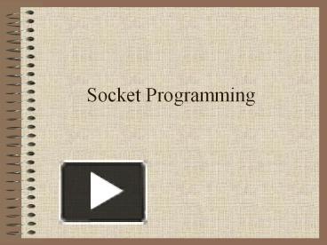 PPT – Socket Programming PowerPoint presentation | free to