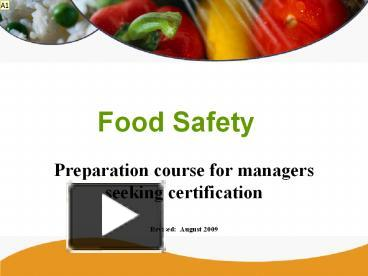 ppt – food safety powerpoint presentation | free to download - id, Modern powerpoint