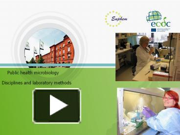 public health in microbiological labs in