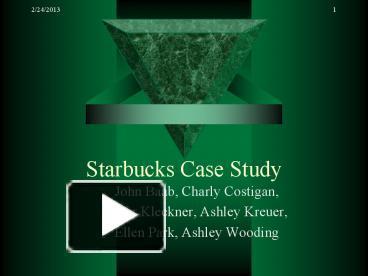 Dumb Starbucks was the perfect crime but Starbucks was smart to studylib  net Case Study Analysis SlideShare
