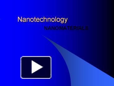 ppt – nanotechnology powerpoint presentation | free to download, Presentation templates