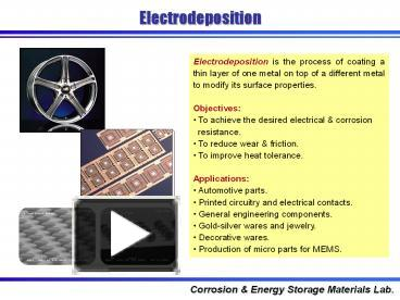 PPT – Electrodeposition PowerPoint presentation | free to download
