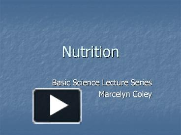 lecture 13 nutritional requirements 5101:2-13-22 meal preparation/nutritional requirements for a licensed family washed and sanitized in accordance with appendix a of rule 5101:2-13-13 of the.
