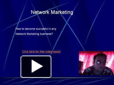 Ppt Mlm Marketing Powerpoint Presentation Free To