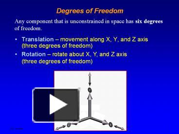 PPT – Degrees of Freedom PowerPoint presentation | free to