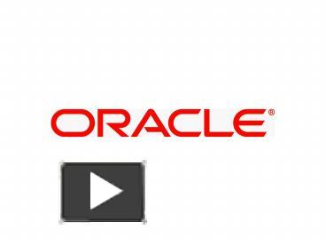 PPT – Oracle on OpenVMS Product Update November, 2008