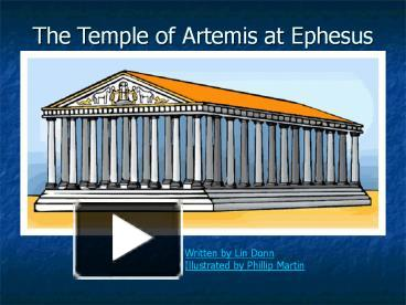 PPT – The Temple of Artemis at Ephesus PowerPoint ...