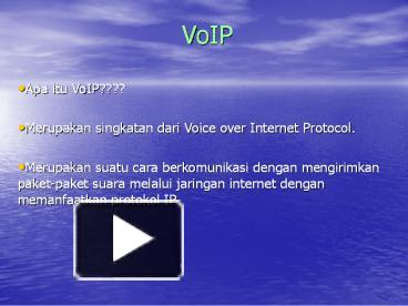 Ppt voip powerpoint presentation free to download id 3eecd2 ntq0z ccuart Gallery