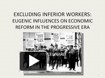 workers of the progressive era