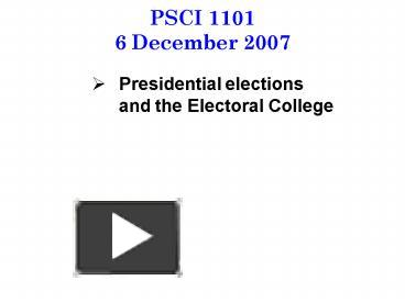 psci 231 midterm review