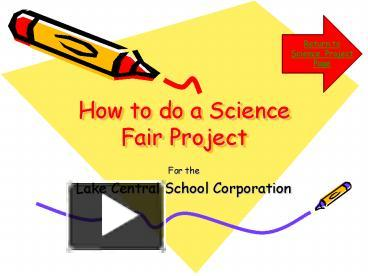 how to do research papers for science fairs