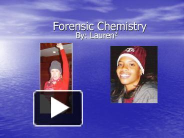 Ppt forensic toxicology powerpoint presentation id:2286914.