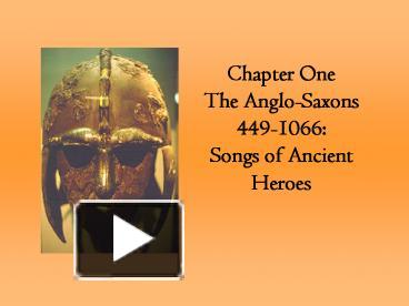 the contrast of anglo saxon heros and An account of edmund ironsides struggles with the vikings second in the anglo saxon heroes series.