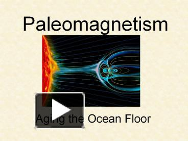 paleomagnetic dating relative or absolute