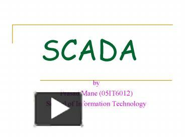 PPT – SCADA PowerPoint presentation | free to download - id