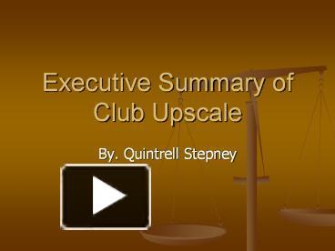 club chaos executive summary