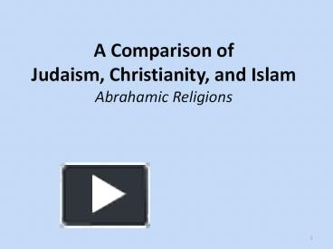 comparative essay on judaism and christianity Enjoy the great compare and contrast essay sample on the judaism and christianity that provides information about origins, beliefs and worships of both religions.