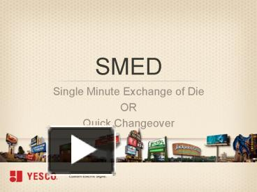 smed template - ppt smed powerpoint presentation free to view id