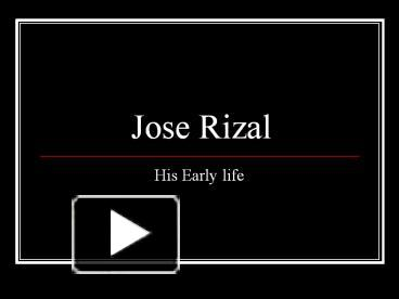 Ppt jose rizal powerpoint presentation free to download id ppt jose rizal powerpoint presentation free to download id 438529 zdjmo toneelgroepblik Images