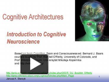 Ppt introduction to cognitive neuroscience powerpoint presentation ppt introduction to cognitive neuroscience powerpoint presentation free to download id 43d361 nzljo toneelgroepblik Choice Image