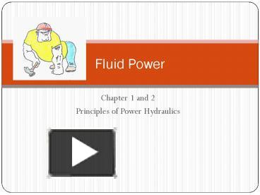 PPT – Principles of Power Hydraulics PowerPoint presentation