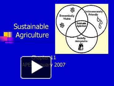 Ppt sustainable agriculture powerpoint presentation free to ppt sustainable agriculture powerpoint presentation free to download id 43f6b1 zjjkn toneelgroepblik Gallery