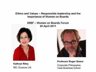 the importance of ethics and values in The impact of cultural values on marketing ethics july 11, 2014 a single marketing message cannot be expected to work in multiple territories due to cultural and ethical differences.