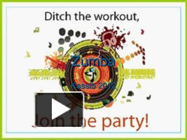 Ppt zumba powerpoint presentation free to download id 4429ee ppt zumba powerpoint presentation free to download id 4429ee ztuwm toneelgroepblik Gallery
